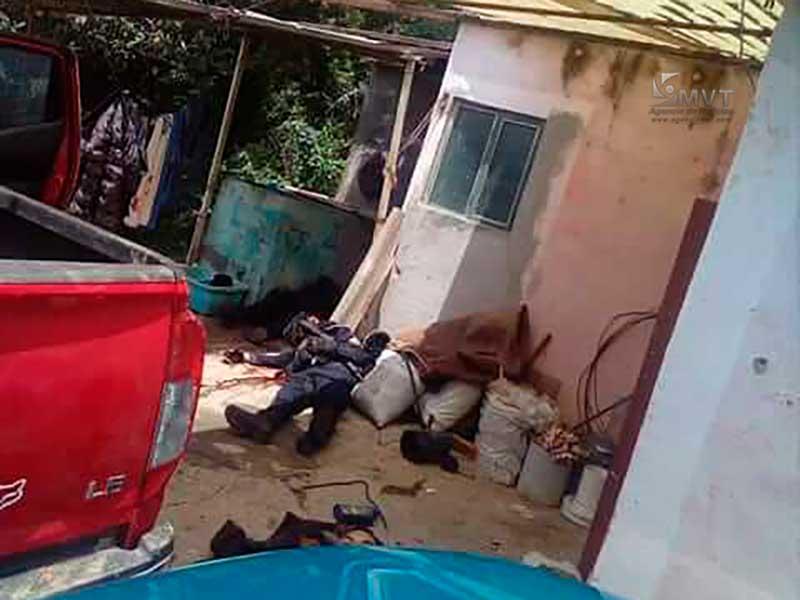 Mueren tres policías durante enfrentamiento en Villa Guerrero