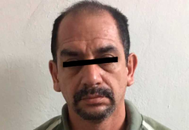 Hueman Valente, detenido en Puebla, fue ingresado al penal de Santiaguito