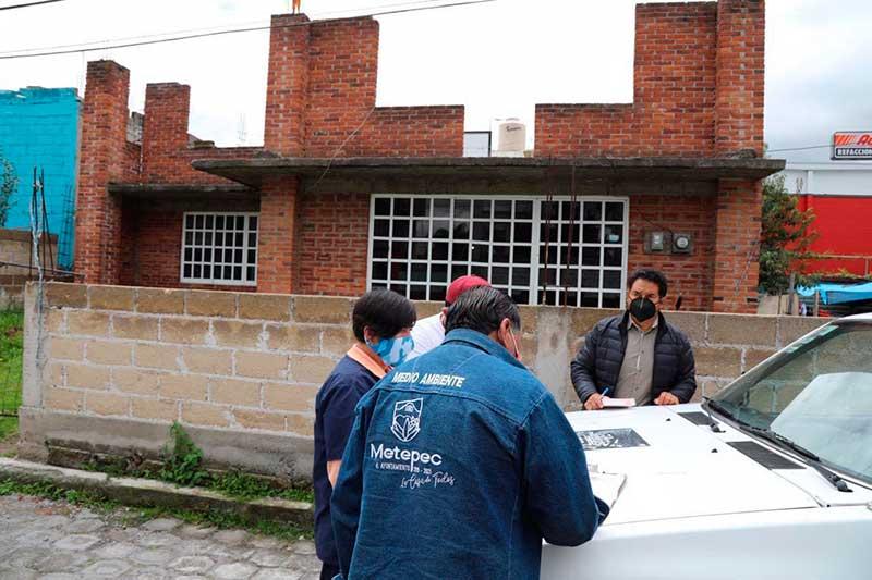 Gobierno de Metepec atiende denuncia de posible maltrato animal