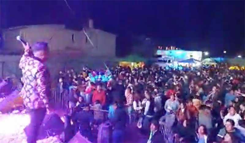 Habrá denuncias penales contra organizadores del baile de San Andrés Cuexcontitlán