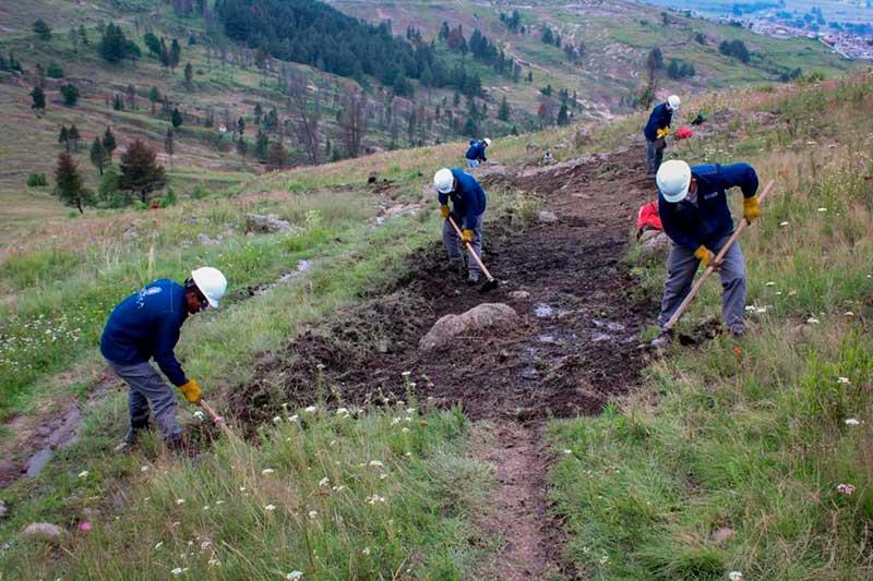 Brigadas Forestales de Toluca inician tareas de prevención de incendios