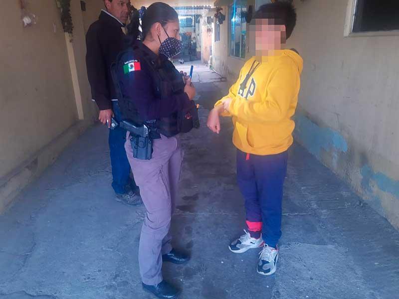 Niño escapa de su casa en Toluca porque no lo dejaron jugar «Free Fire»