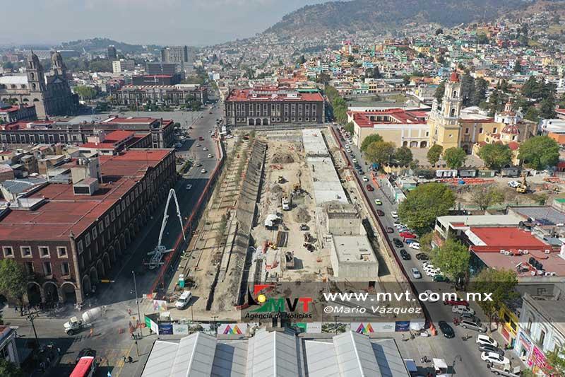 En junio podría quedar terminado el Parque de la Ciencia en Toluca
