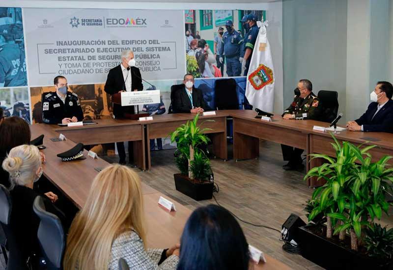 Disminuyen 16% delitos de alto impacto en durante 2020 en el Edoméx
