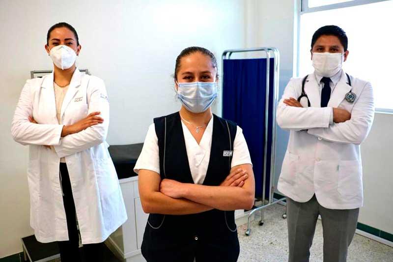Brinda Centro de Salud Urbano de Toluca cerca de 35 mil consultas en 2020