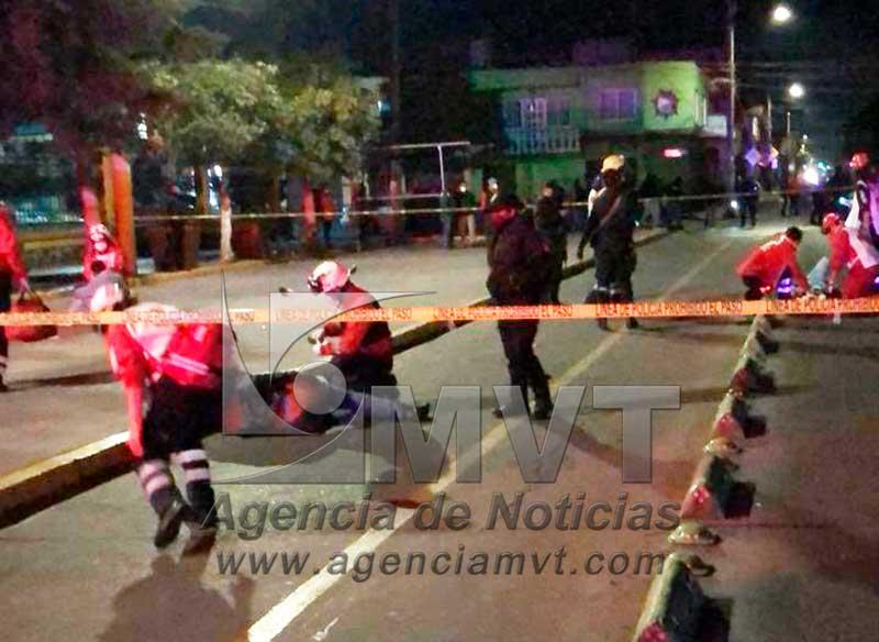 Riña en San Mateo Atenco termina en balacera, hay seis lesionados