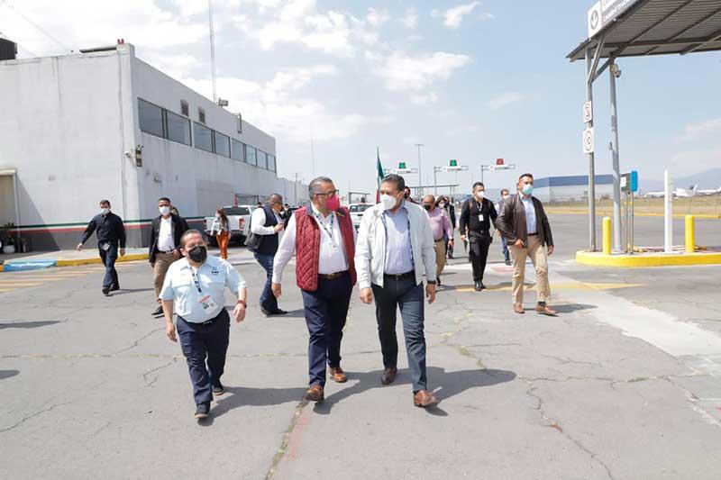 Con obras prioritarias generamos empleos e inversiones para el Estado de México: Horacio Duarte y Juan Rodolfo Sánchez