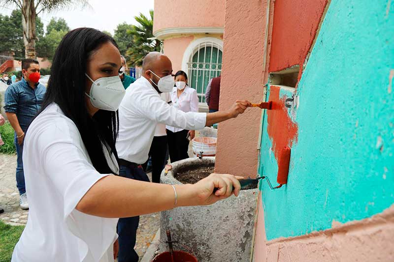 Regresar el color a la zona habitacional más poblada, es cumplir compromisos con la ciudadanía: Gaby Gamboa
