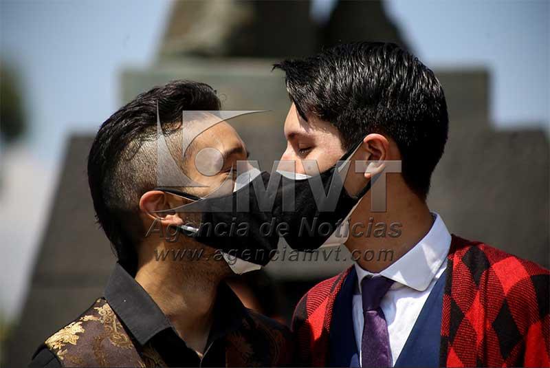 Celebran boda gay en Toluca tras ganar amparo de la Suprema Corte de la Nación