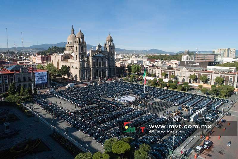 Al terminar el contrato las patrullas de Toluca serán parte del activo municipal