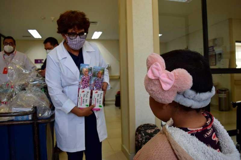 Alegran estancia de pequeños en el Hospital para el Niño