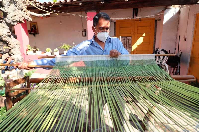 Es rebozo mexiquense una tradición artesanal con historia y cultura