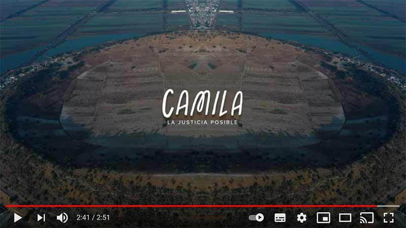 El documental «Camila, la justicia posible» será presentado bajo el patrocinio de la Codhem