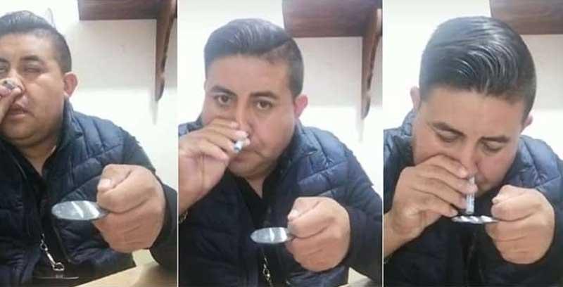 Destituyen al comisario de Villa Guerrero por inhalar sustancias prohibidas