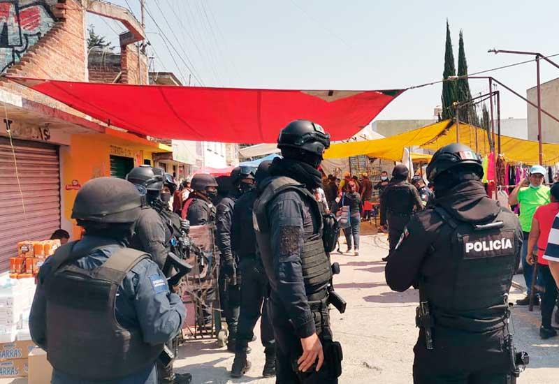 Niño recibe un balazo durante riña en el mercado «El Piojo» de Toluca