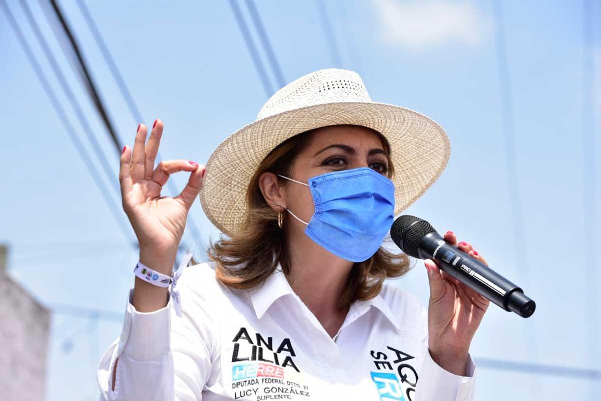 Este 6 de junio si podemos rescatar a México: Ana Lilia Herrera