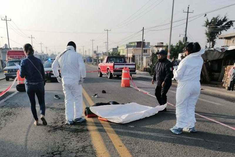 Muere peatón atropellado en la carretera Amomolulco-Ixtlahuaca
