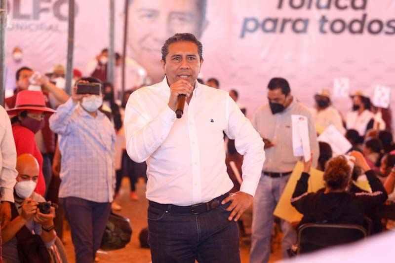 Gobiernos del PRI dejaron la mayor deuda pública en la historia de Toluca: JRSG
