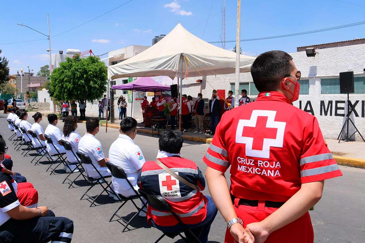 Cumplió 50 años de operaciones la Delegación Nezahualcóyotl Zona Norte de Cruz Roja Mexicana