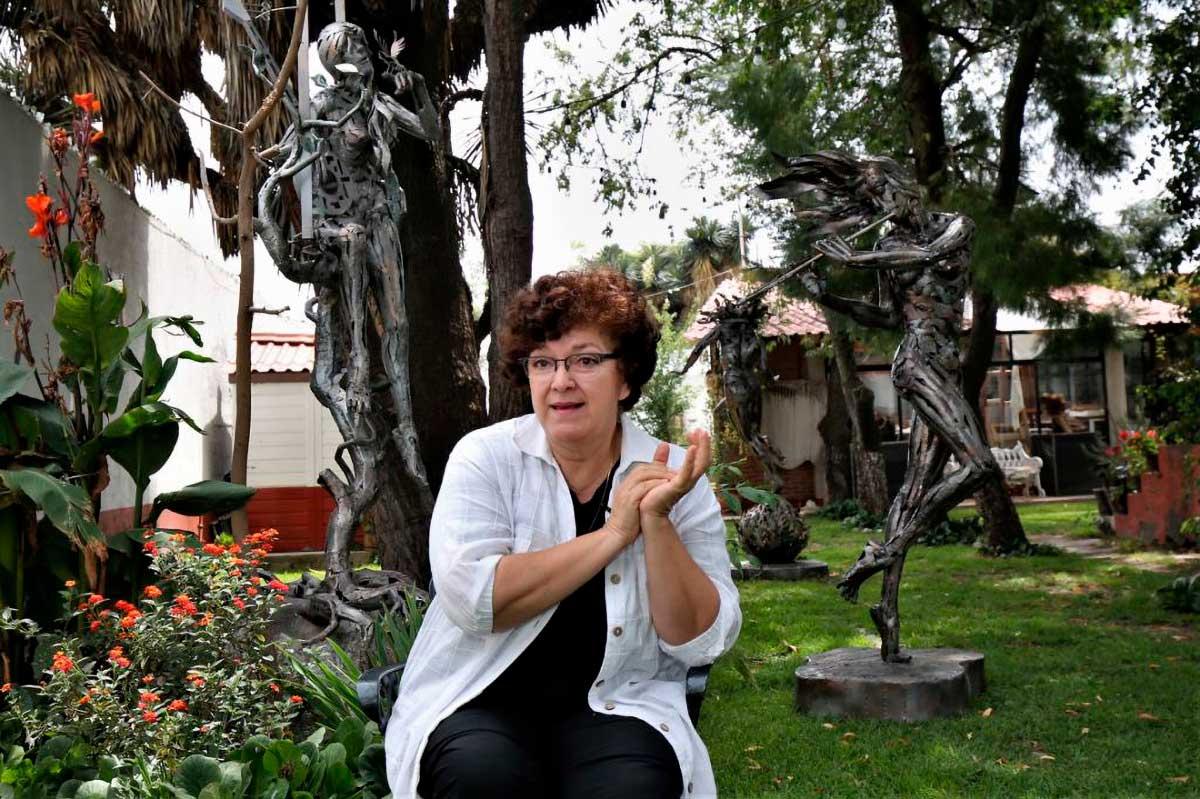 Marthel Cano esposa del maestro Fernando Cano