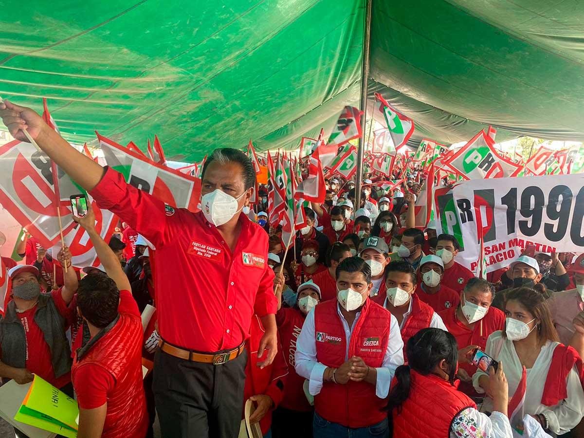 Militantes de Movimiento Ciudadano se suman al proyecto de Froylan Santana en el distrito XVIII