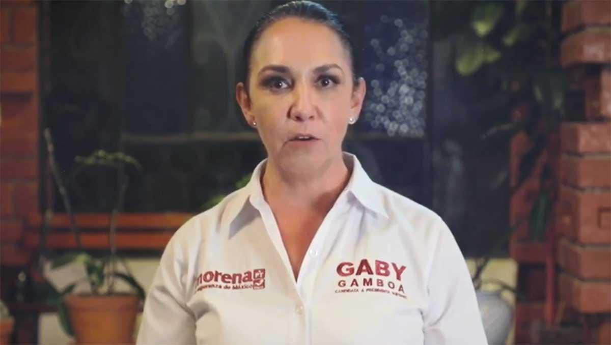 Reconoce Gabriela Gamboa conversación con empleado de Fernando Flores, solo se defendió argumenta