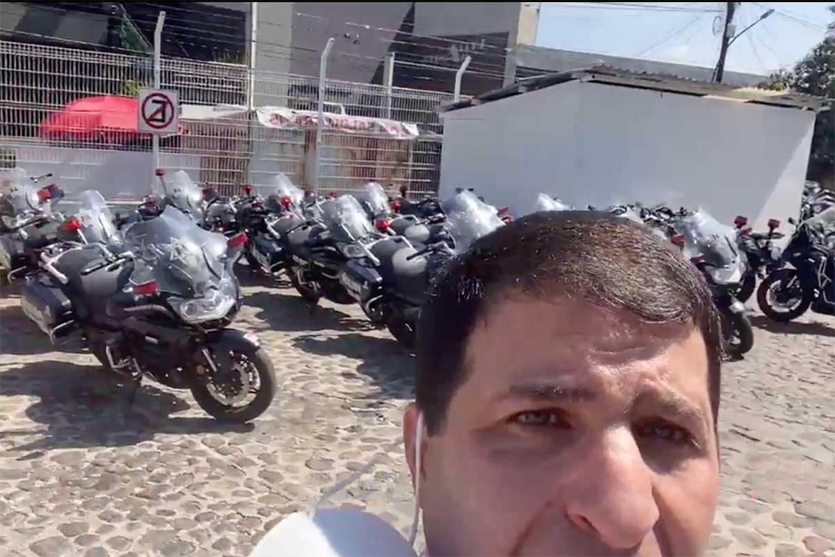 Aclara Toluca información de moto patrullas estacionadas en El Calvario