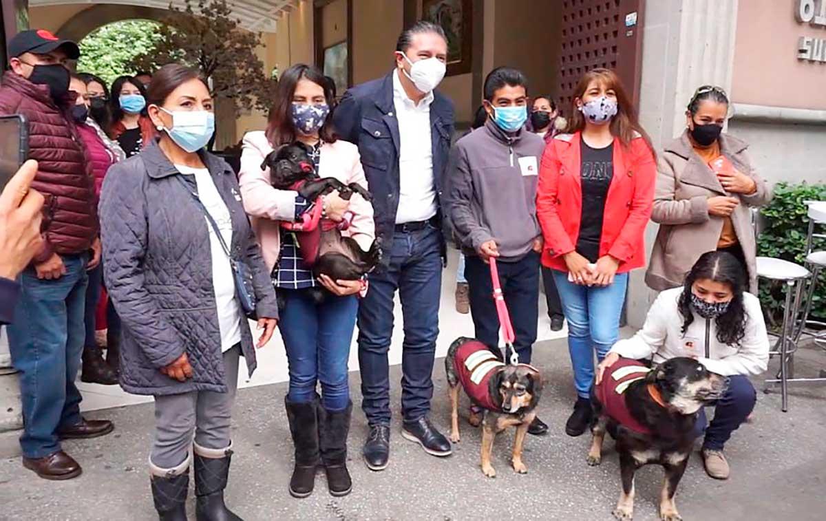 Juan Rodolfo Sánchez creará el primer Hospital de Rescate Animal en Toluca