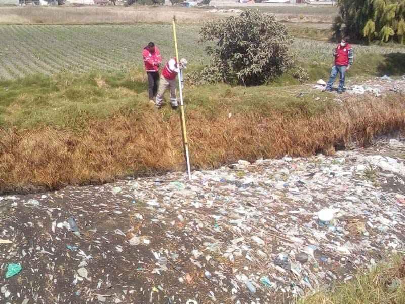Protección Civil de Toluca monitorea el nivel de arroyos, ríos, canales y bordos