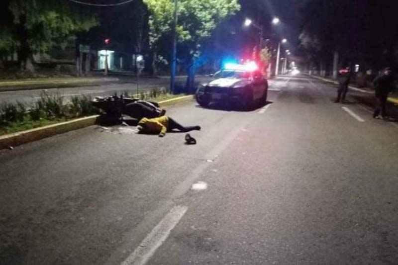 Muere motociclista tras sufrir accidente en el Paseo Colón de Toluca
