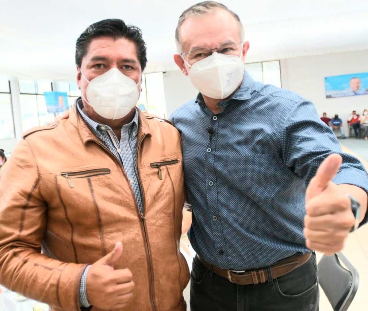 Raymundo Martínez se reúne con Proyecto 21