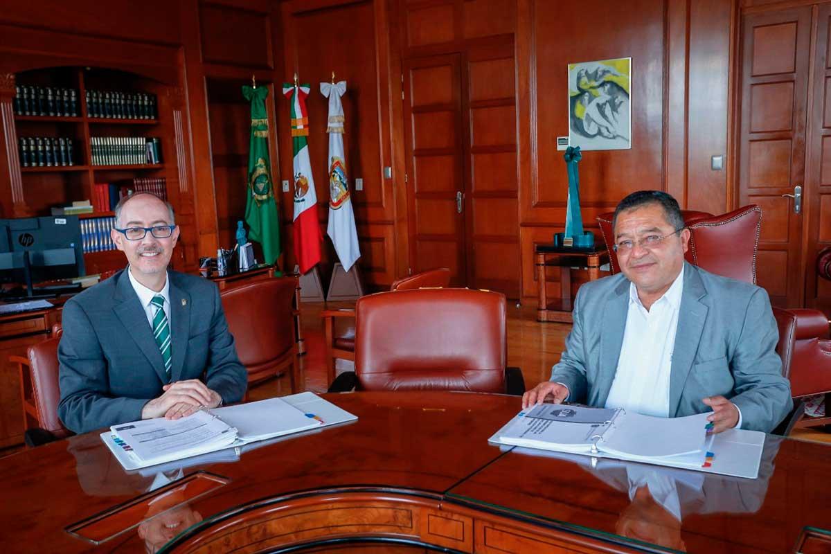 El Organo Interno de Control, aliado de la UAEM en la rendición de cuentas: Rector Carlos Barrera
