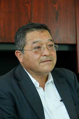 Victorino Barios, contralor de la UAEM