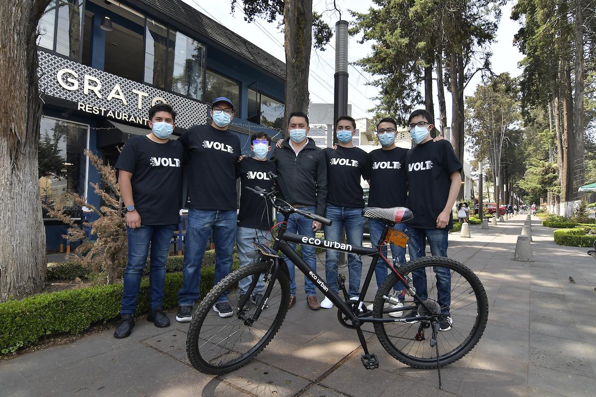 Estudiantes mexiquenses crean bicicleta ecológica