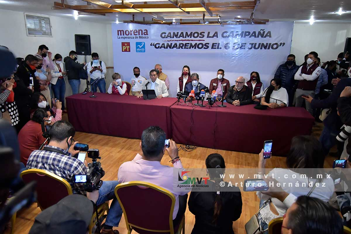 """Juan Rodolfo Sánchez e Higinio Martínez exigen al gobernador que """"saquen las manos de las elecciones"""""""