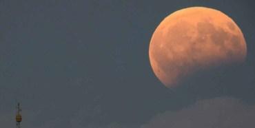 Eclipse lunar mayo 2021 en la uaemex