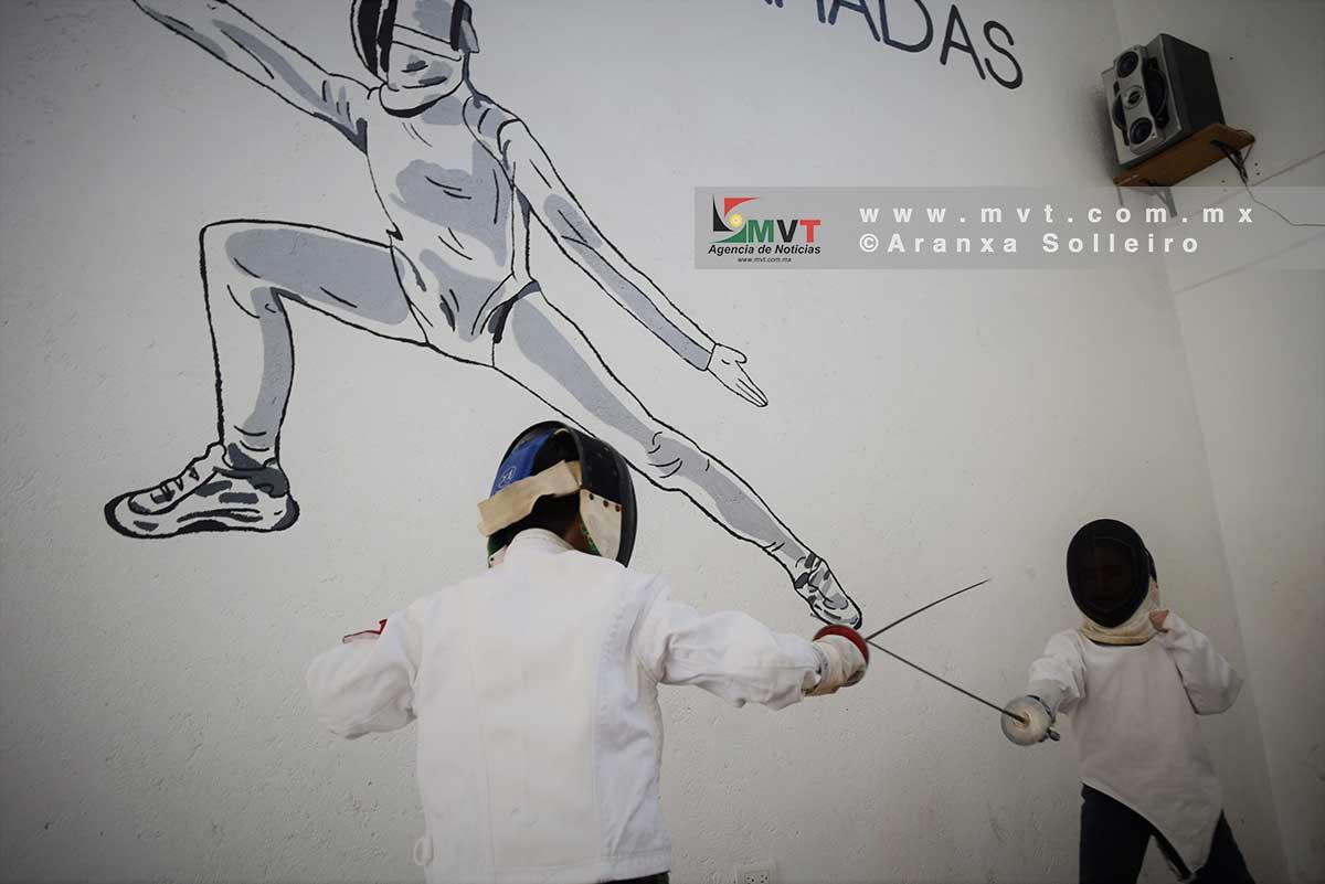 Escuela de esgrima en Metepec, desde 2017 ha formado campeones nacionales e iberoamericanos
