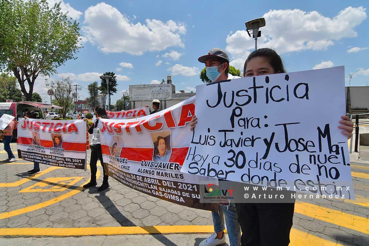 No hay pistas sobre gaseros secuestrados en San Cristobal Huichochitlán