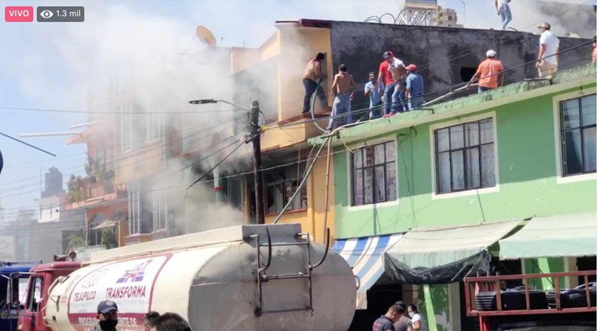 Incendio en Tejupilco pone en evidencia la falta de servicios de emergencia