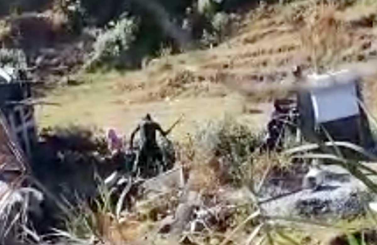 #Video Golpeaba a sus hijas con un palo en Joquicingo; ya fue detenido