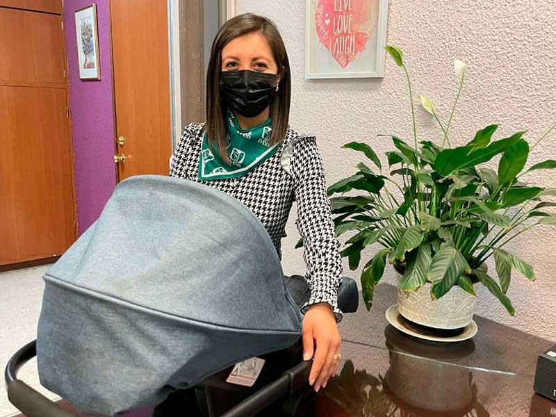 """""""Nunca pensé vivir mi embarazo de esta forma durante la pandemia"""""""