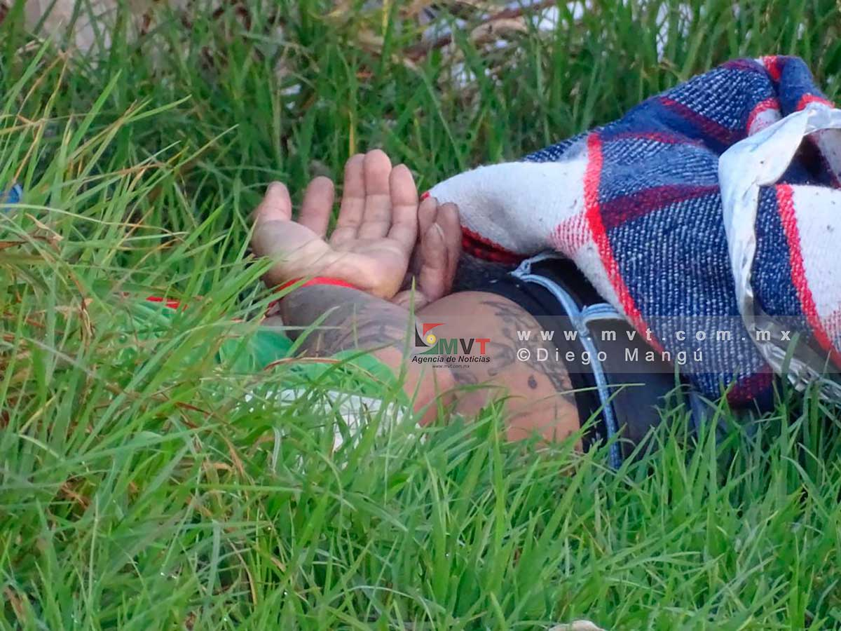 Amanece hombre muerto y maniatado en San Buenaventura, Toluca