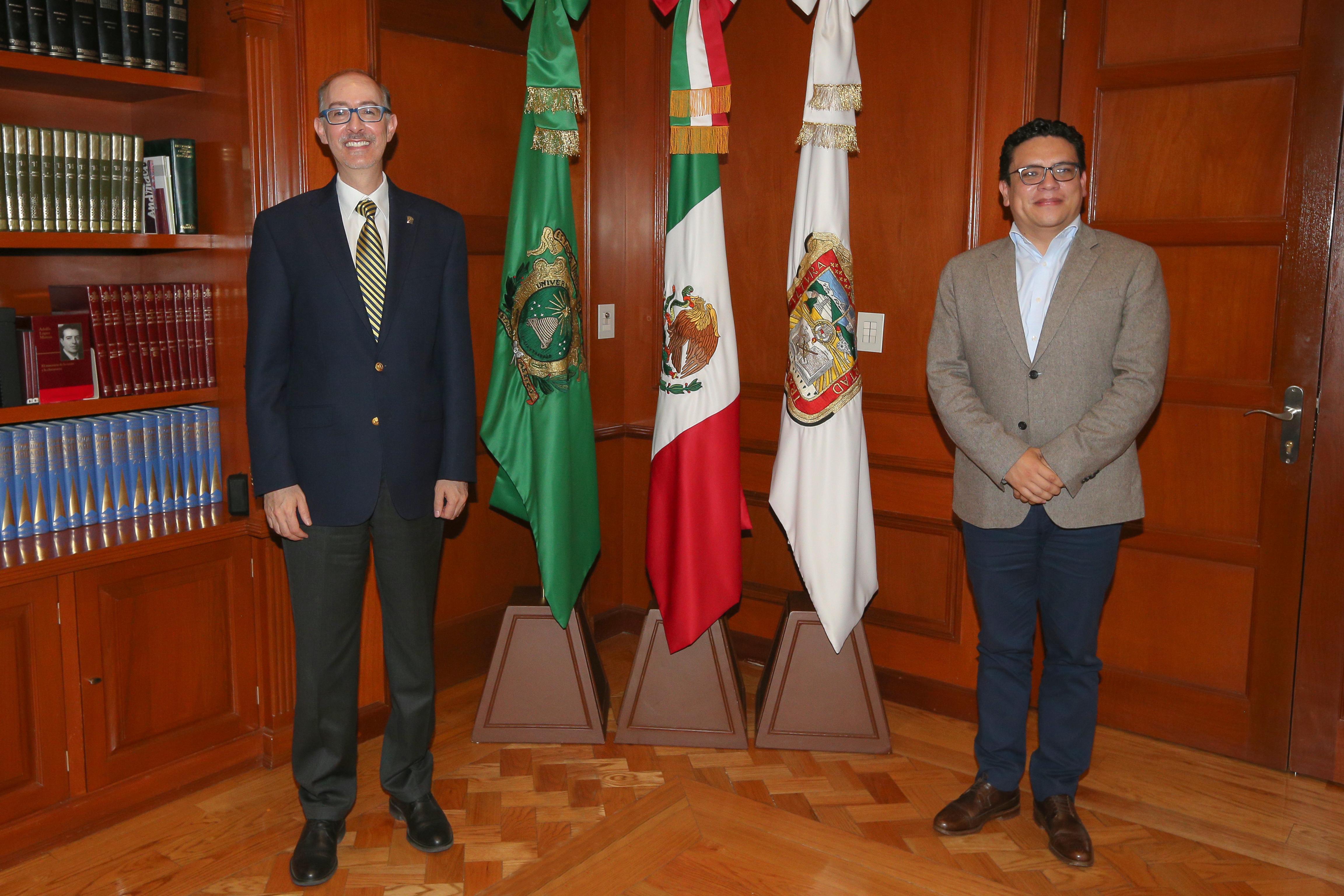 UAEM, convocada a consolidar derecho al acceso a la ciencia: Carlos Eduardo Barrera