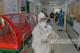 Mujer enferma de Covid da a luz a gemelas y se recupera con éxito en Toluca