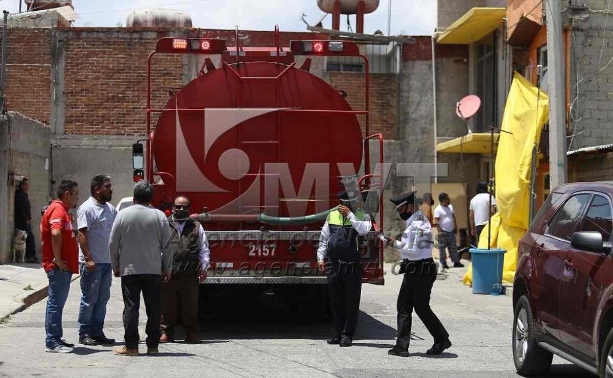 Se registra explosión por gas LP en Toluca y deja dos heridos