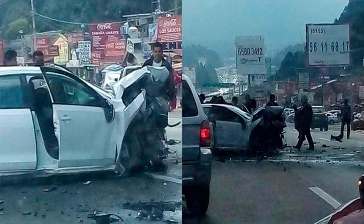 Se registra accidente en Toluca.