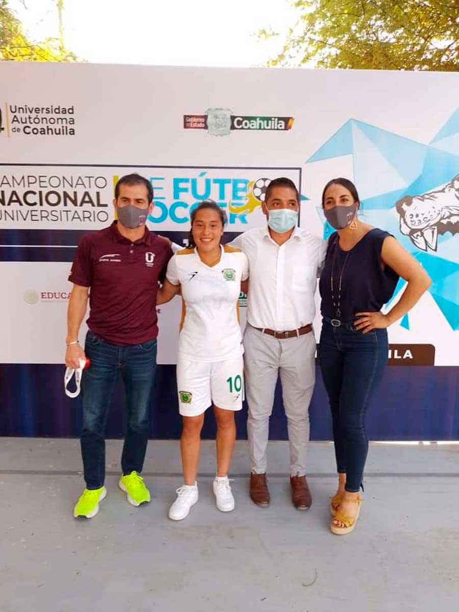 Destaca conjunto de fútbol soccer femenil de la UAEM