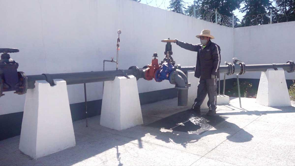 Reducción en caudal del Sistema Cutzamala, afecta a pobladores de Toluca