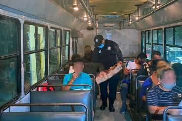 Detenidos en Tlalnepantla