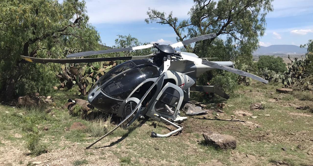 Helicóptero de la Fuerza Aérea